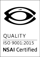 NSAI Certified ISO 9001:2015